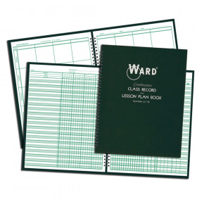 Combination Class Record (6-7 Week Grading Periods) & Lesson Plan (8 Periods) Book