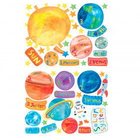 Solar System Vinyl Decals