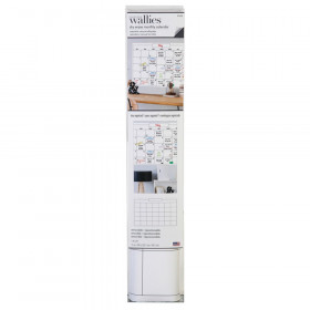 "Dry Erase Monthly Wall Calendar, 25"" x 38"""