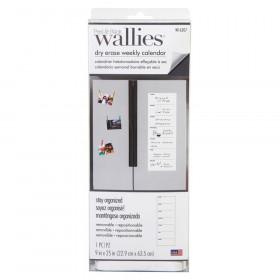 """Dry Erase Weekly Wall Calendar, 9"""" x 25"""""""