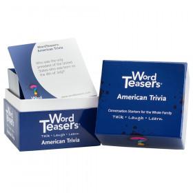American Trivia Flash Card, 150 Questions