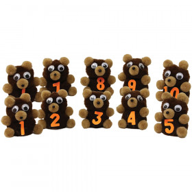 Monkey Mitt Set Ten Little Bears