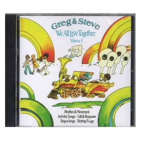 Greg & Steve: We All Live Together Vol. 1 CD