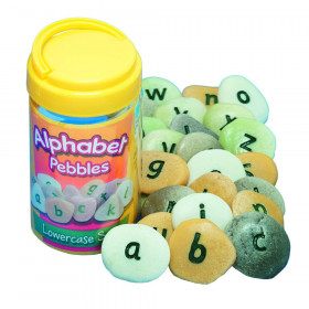 Lowercase Alphabet Pebbles, Set of 26