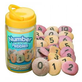 Number Pebbles, Set of 22