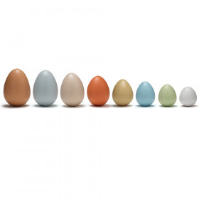 Size-Sorting Eggs, Set of 8