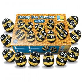 Honey Bee Number Stones, Set of 20