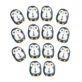 Pre-Coding Penguin Stones, Set of 18