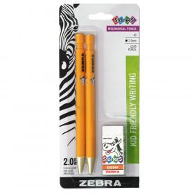 Cadoozles Starters Mechanical Pencils, Black Lead, Pack of 2