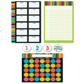 Stylin' Stripes Bulletin Board Set