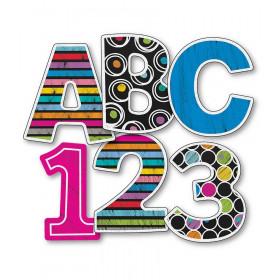 "Colorful Chalkboard 3"" EZ Letters"