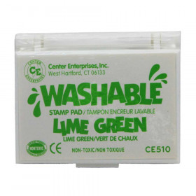 Washable Stamp Pad, Green, Lime