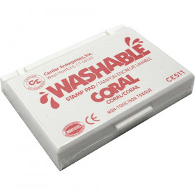 Washable Stamp Pad, Coral