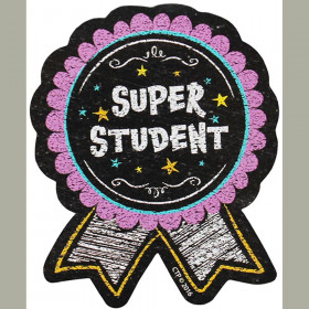 Chalk It Up! Super Student Badge