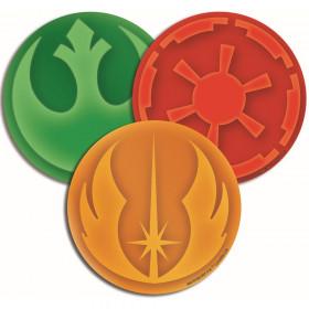 Star Wars Paper Cut Outs Asst