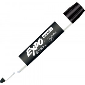 Expo Dry Erase Markers Bullet Tip Black