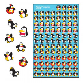 Perky Penguins superShapes Stickers, 800 ct