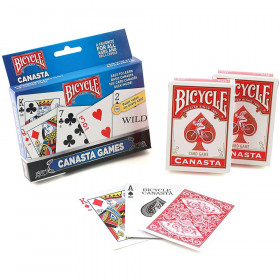 Bicycle Canasta Card Game Set