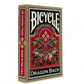 Bicycle Gold Dragon Back Standard Index Playing Cards