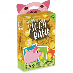Hoyle Piggy Bank Card Game
