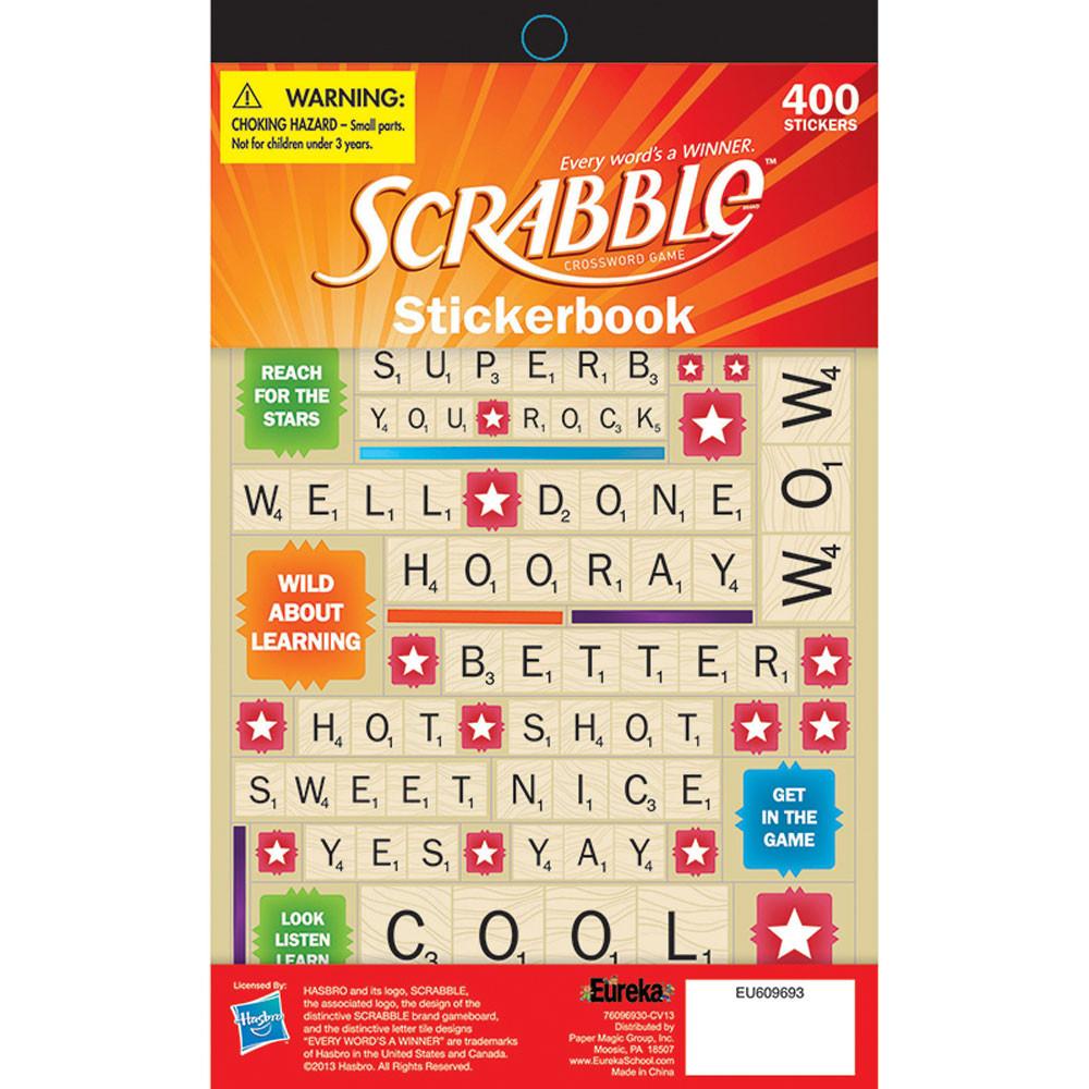 Paper Magic 847697 Eureka Scrabble Welcome to Our Class Mini Bulletin Board Set