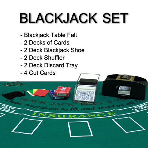 2 Deck Blackjack Dealer Kit