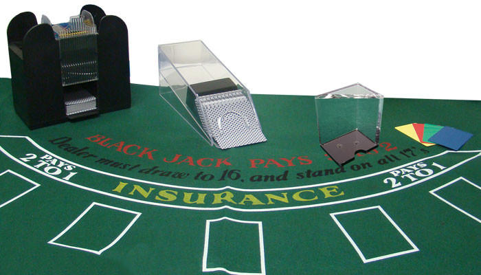 6 Deck Casino Blackjack Dealer Kit