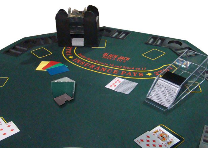 6 Deck Deluxe Blackjack Dealer Combo Set