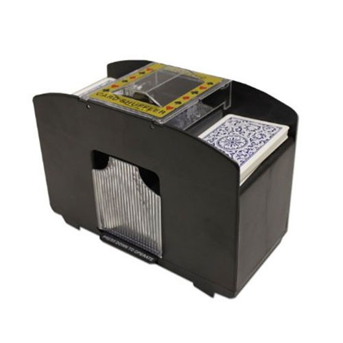 4 Deck Automatic Playing Card Shuffler