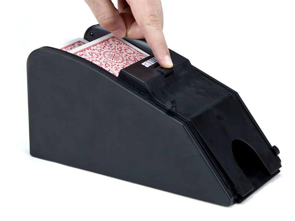 2 in 1 Automatic Card Shuffler and Blackjack Dealer Shoe