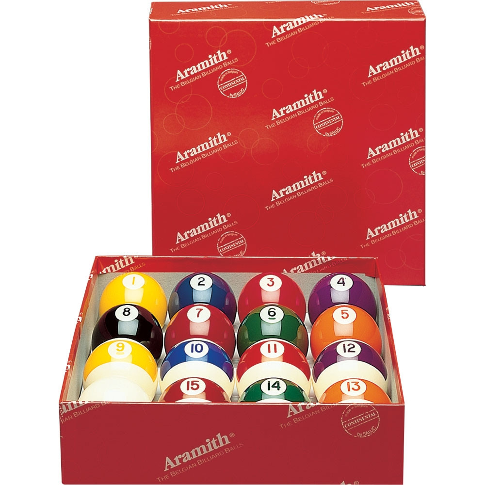 Aramith Continental Pool Ball Set