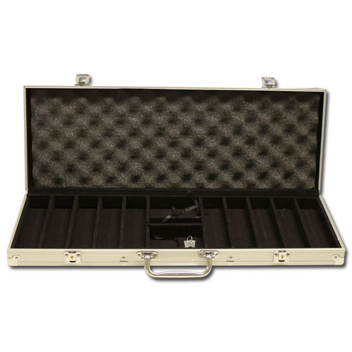 Desert Heat 500pc Poker Chip Set w/Aluminum Case