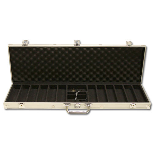 Desert Heat 600pc Poker Chip Set w/Aluminum Case