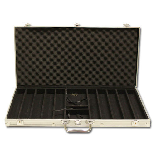 Desert Heat 750pc Poker Chip Set w/Aluminum Case