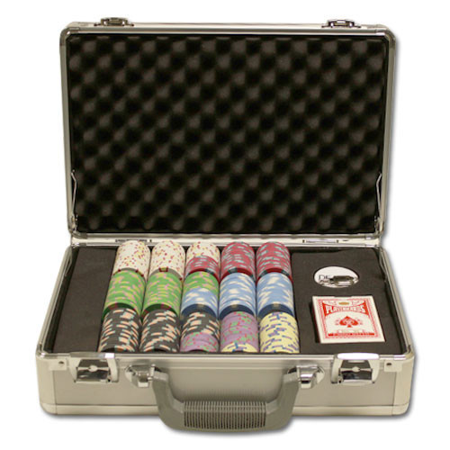 Claysmith Milano 300pc Poker Chip Set w/Claysmith Aluminum Case