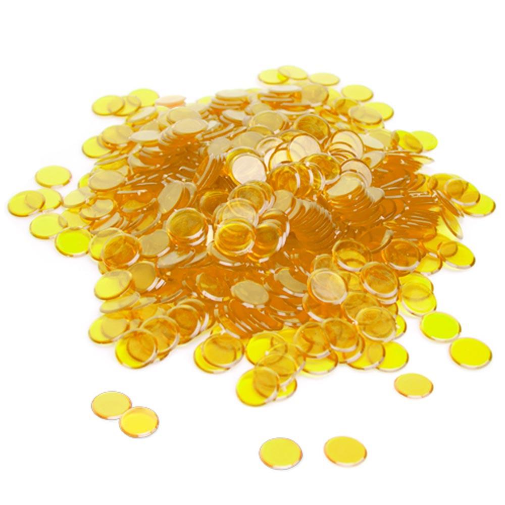300 Pack Yellow Bingo Marker Chips