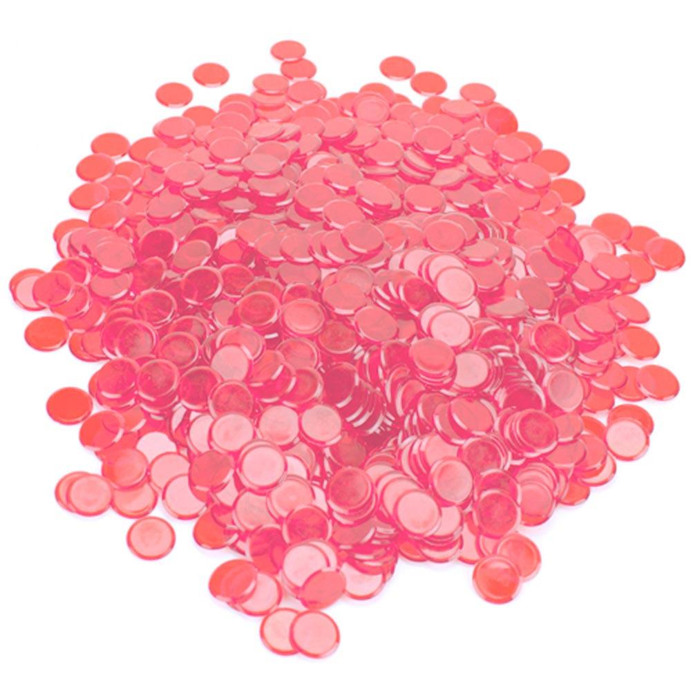 1000 Pack Pink Bingo Marker Chips