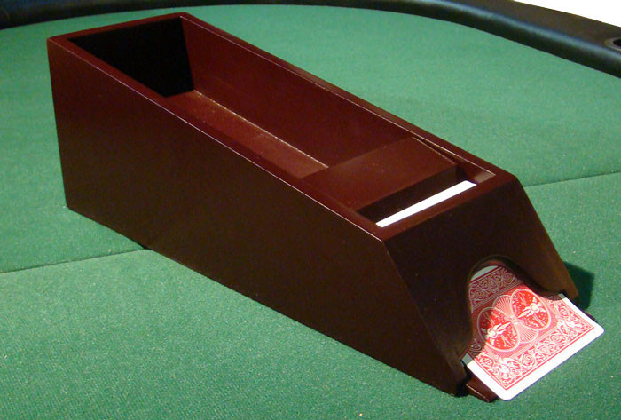 8 Deck Deluxe Wooden Blackjack Dealer Shoe