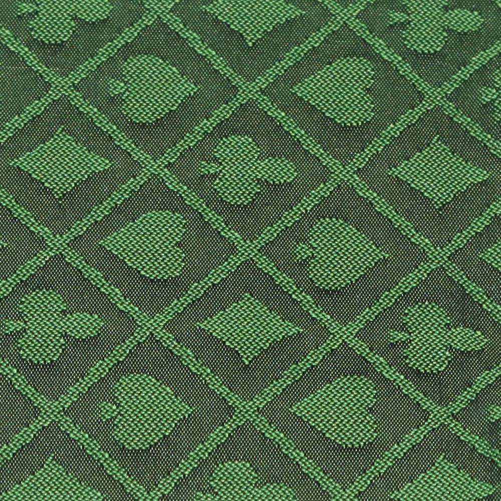 Green Two-Tone Poker Table Speed Cloth - 10 Foot