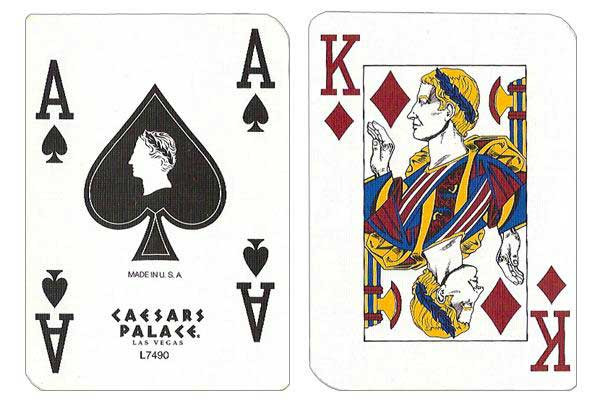 Caesars Palace Casino Used Playing Cards