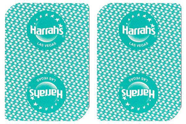 Harrah's Casino Used Playing Cards