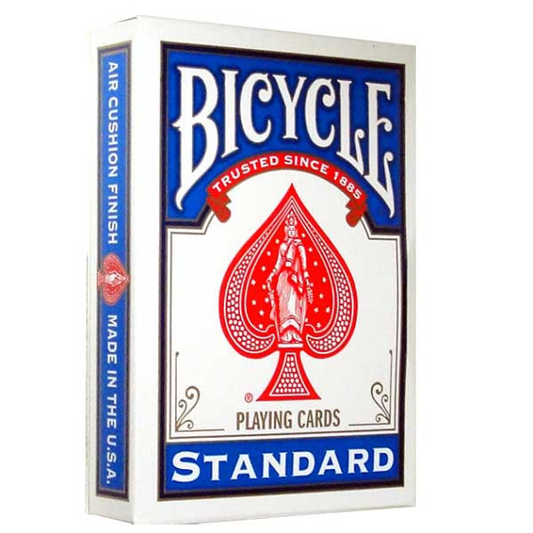 bicycle standard playing cards blue. Black Bedroom Furniture Sets. Home Design Ideas