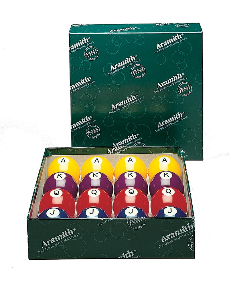 Aramith Poker Pool Ball Set