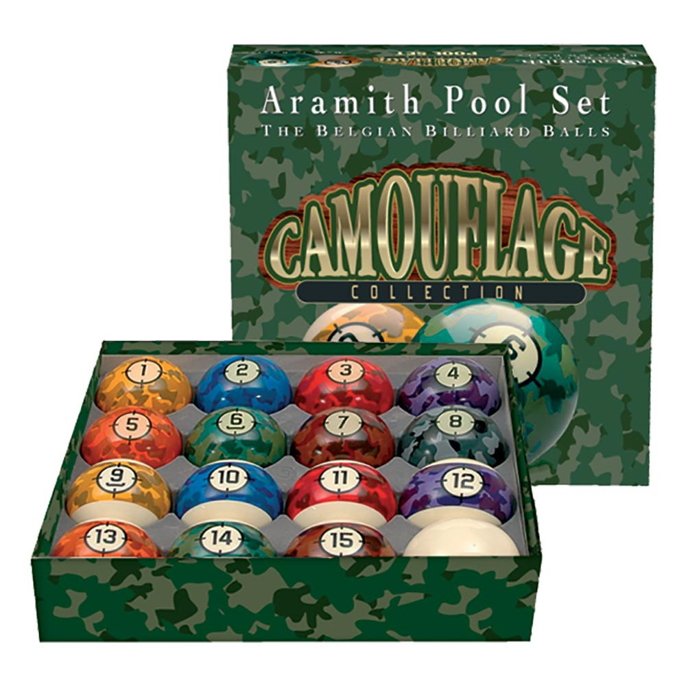Aramith Camouflage Billiard Board Set