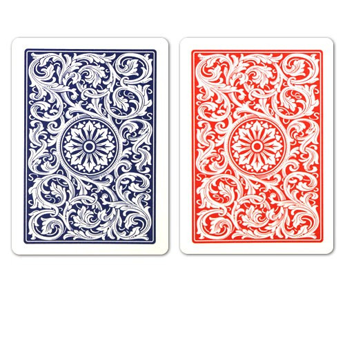 COPAG Plastic Playing Cards, Red/Blue, Bridge Size, Regular Index
