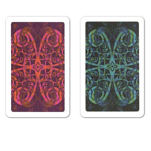 COPAG Aldrava Plastic Playing Cards, Blue/Red, Bridge SIze, Jumb Index