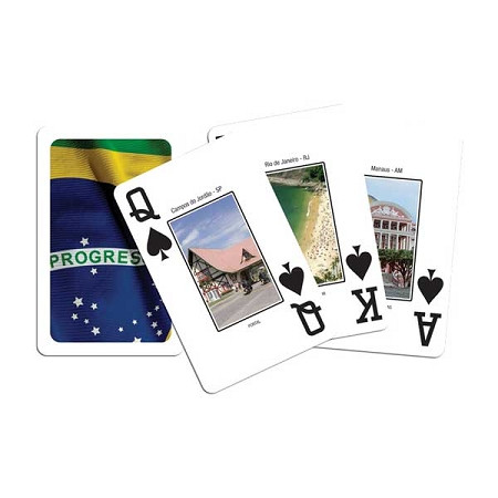 COPAG Baralho Brazilian Flag Bridge Playing Card Set