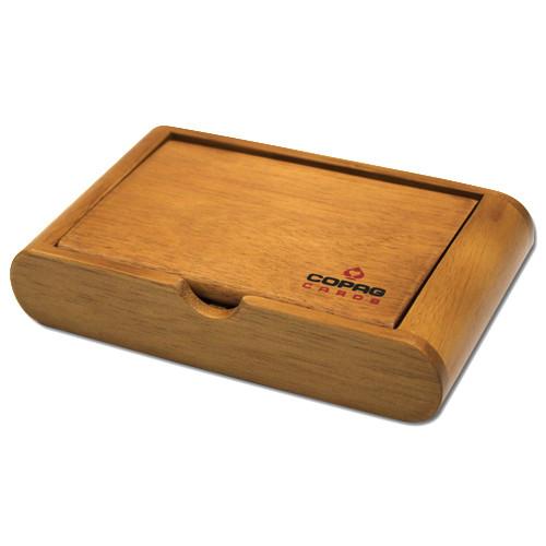 COPAG Wooden Playing Card Storage Box