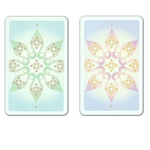 COPAG Indian Plastic Playing Cards, Green/Brown, Bridge SIze, Jumb Index