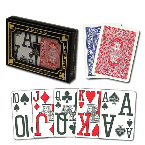 COPAG Magnum Index Plastic Playing Cards
